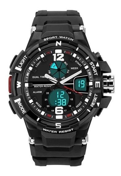 Relógio De Pulso Masculino À Prova De Água Militar Mod 289