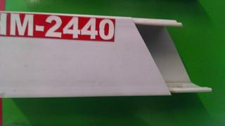 C2440Canaleta De 4.0 De Base X 2.4 De Alto 1 Via