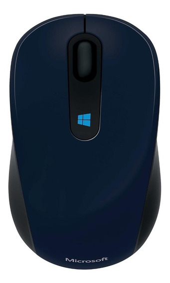 Mouse Microsoft Mobile Sculpt azul