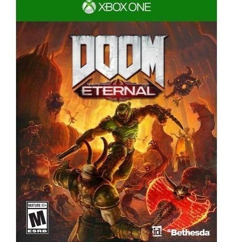 Doom Eternal Standard Edition Xbox One Código 25 Dígitos