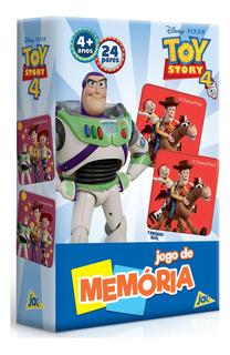 Jogo De Memória Toy Story 4 Novo Original Toyster