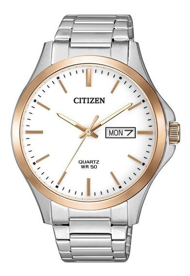 Relógio Citizen Masculino Ref: Tz20822s Social Bicolor