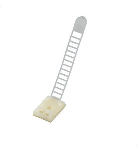 Imagen 1 de 2 de Pack X 5 Organizador De Cables Clips Adhesivos Ajustables