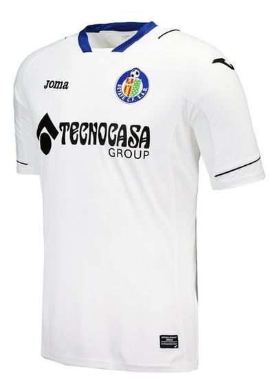 Camiseta De Fútbol Joma Getafe Alternativa Ii Hombre Blanca