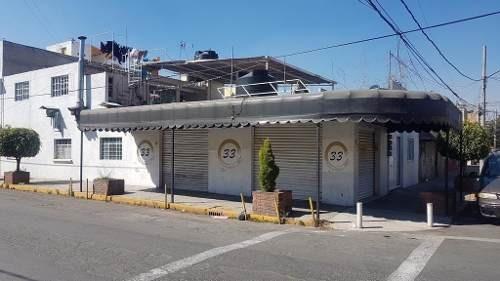 Local Comercial Con Departamentos En Esquina Col Puebla