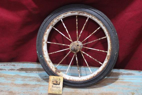 Aro De Triciclo Antigo 25cm Cod.723