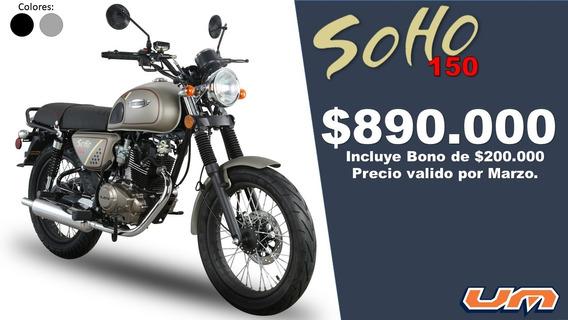 Moto Soho 150 Um