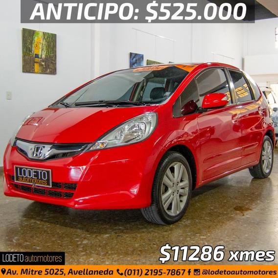 Honda Fit 1.5 Exl At 2014 Anticipo/financiacion/permuta