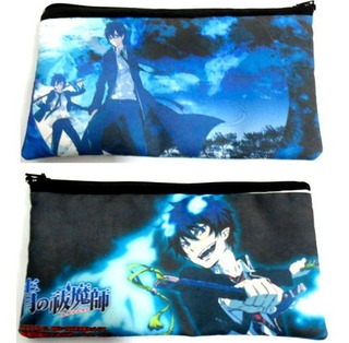 Cartuchera De Anime De Ao No Exorcist Blue