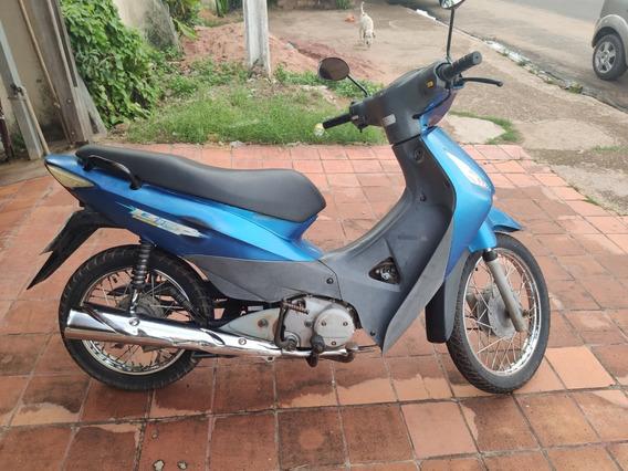 R$ 4.000 Moto Biz 125cc 2006, Azul