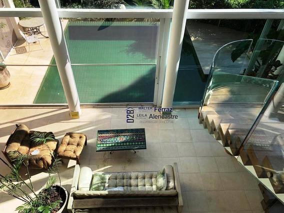 Casa Com 5 Dormitórios À Venda, 720 M² Por R$ 4.600.000 - Marapé - Santos/sp - Ca0061