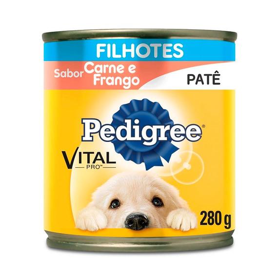 Ração Úmida Pedigree Cães Filhotes Sabor Carne E Frango 280g