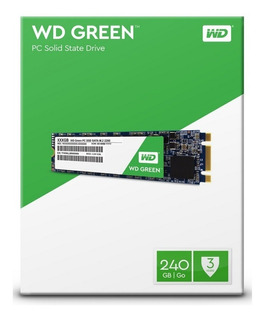 Disco Ssd Western Digital Green 240 Gb Sata M2