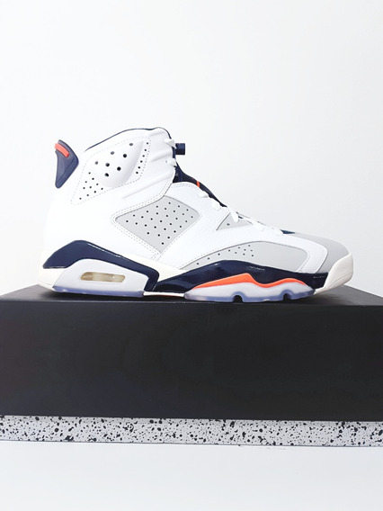 Tênis Nike Air Jordan 6 Retro Basquete Original N. 44