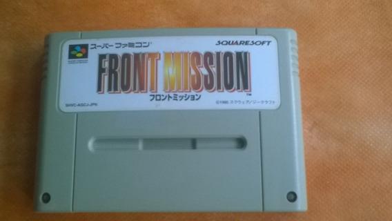 Jogo Super Nintendo Front Mission Original - Frete Grátis