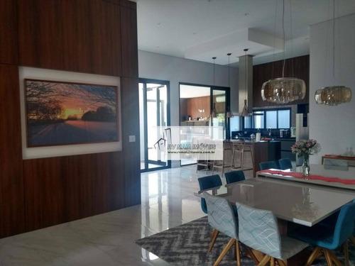 Casa Com 3 Dormitórios À Venda, 300 M² Por R$ 1.400.000,00 - Condomínio Village Ipanema - Araçoiaba Da Serra/sp - Ca2097