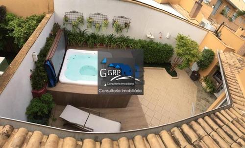 Imagem 1 de 15 de Sobrado Em Condomínio Mobiliado Para Venda Em São Caetano Do Sul, Mauá, 3 Dormitórios, 3 Suítes, 5 Banheiros, 4 Vagas - 6752_1-1853736