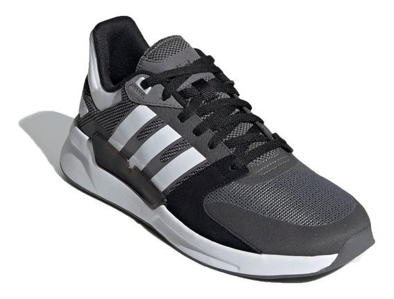 Zapatilla adidas S Lifestyle Hombre Run 90s Gris-bco-neg Ras