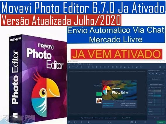 Movavi Photo Editor 6.4 Em Português Envio Imediato