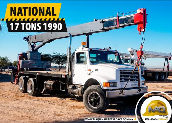 Grua Titan International - National 17 Tons 1990