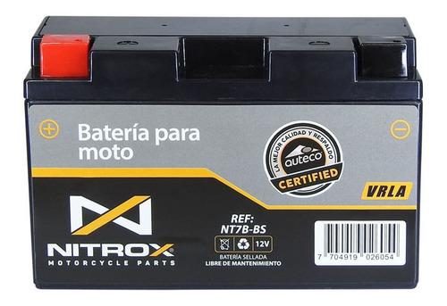 Imagen 1 de 2 de Batería Nitrox  Moto Yamaha Bws 125