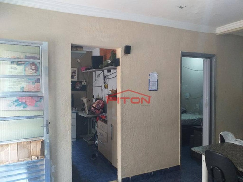 Imagem 1 de 15 de Casa Com 4 Dormitórios À Venda, 200 M² Por R$ 380.000,00 - Jardim Soraia - São Paulo/sp - Ca0794