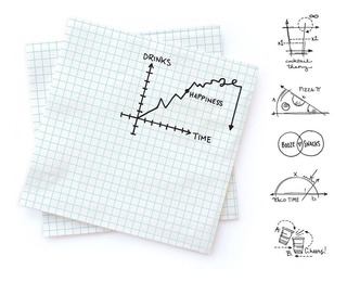 Servilletas Noted Graficas