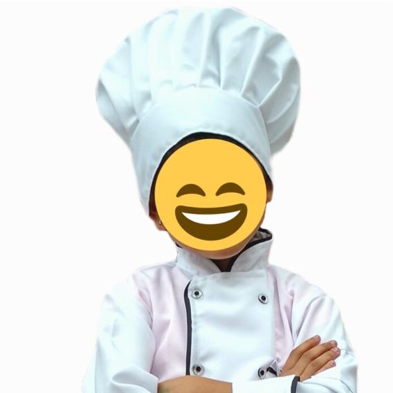 Gorro Para Niño O Niña De Chef O Pastelero.