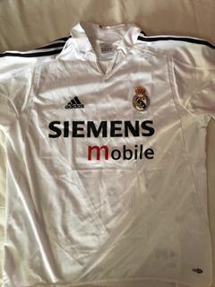 Camisa Real Madrid, 2005. Tamanho M. Original!!
