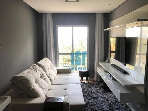 Imagem 1 de 16 de Apartamento Com 2 Dormitórios À Venda, 49 M² Por R$ 270.000 - Jardim Dos Ipês - Cotia/sp - Ap24906. - Ap24906