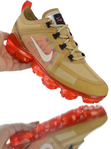 Zapatilla Nike Vapormax Vm3 Amarillo Naranja 39/45