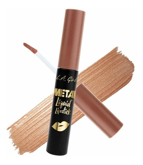 Labial Metalizado La Girl Metal Liquid Maquillaje