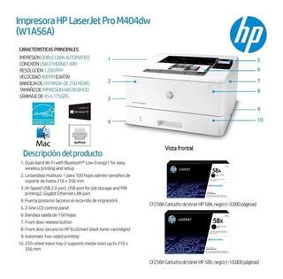 Impresora Hp Laserjet M404dw