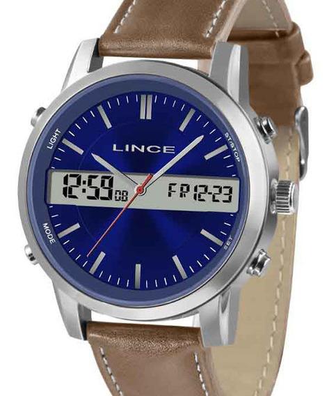 Relógio Lince Masculino Mac4489s D1mb C/ Garantia E Nf