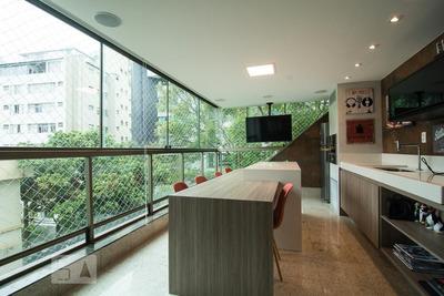 Apartamento No 4º Andar Mobiliado Com 4 Dormitórios E 3 Garagens - Id: 892856447 - 156447
