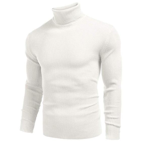 Suéteres De Punto Casual Para Caballeros M-3xl
