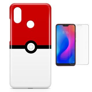 Capa Xiaomi Mi 8/ Mi 8 Pro Pokémon Pokebo + Pel Vidro (bd01)