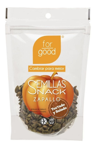 For Good Semillas Girasol Tostado Y Salado X125g