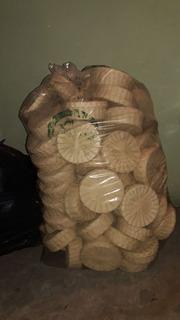 Paquete De 80 Tortilleros De Medio Kilo Con Tapa Naturales