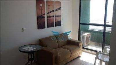 Flat Mobiliado No Apart Hotel Intercity Natal - Beira Mar Areia Preta - Fl0028