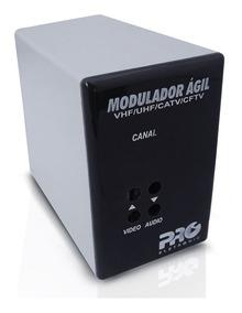 Modulador Proeletronic Ágil Pqmo-2600 Vhf Uhf Catv Cftv