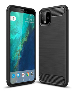 Capa Case | Google Pixel 4 Xl | Carbon Fiber | Anti Impacto