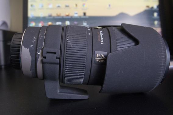 Lente Sigma 70 200mm F2.8 Ii Apo Ex Dg Macro Hsm Para Pentax