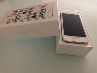 iPhone 5s Silver 16gb - Sem Avarias, Na Caixa Original