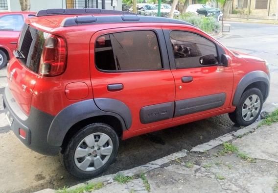 Fiat Uno 1.4 Way 5 Puertas Al Dia - Permuto - Financio