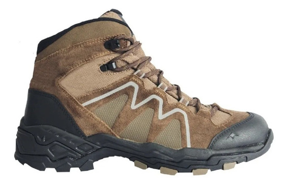 Zapatilla Mujer Montagne Bota Rock Track Impermeables