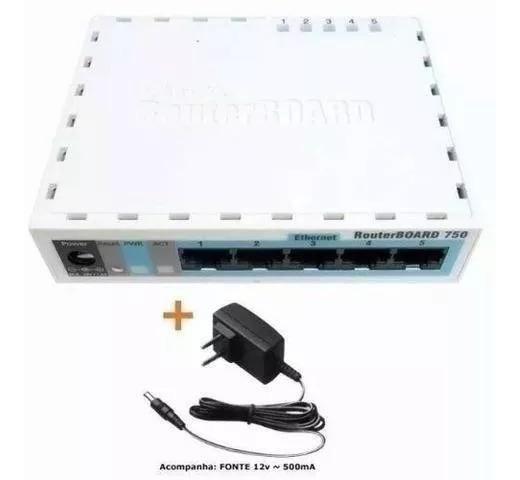 Mikrotik Rb 750r2 Hex Lite 850mhz 64mb L4