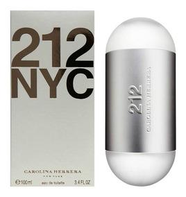 Perfume 212 Carolina Herrera Mujer - 100ml - 100% Original