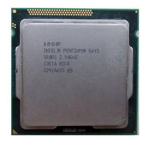 Processador Pentium G645 2.90ghz Socket 1155 Usado (barato)