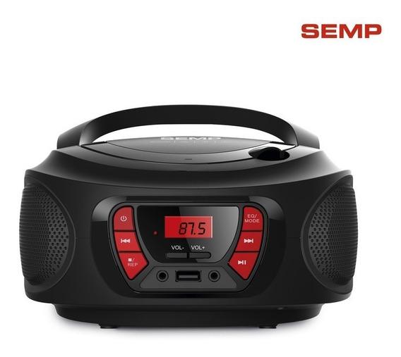 Rádio Portátil Tr04b Semp 4w Bluetooth Radio Fm